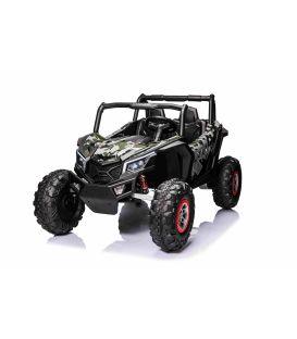 Buggy Scorpion 24 Volts 7Ah camouflage, 4 moteurs de 60 watts, buggy deux places, buggy électrique enfant