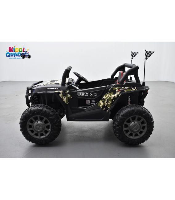 Beach Buggy 24 Volts électrique enfant Camo, buggy électrique enfant 24 Volts 7 Ah, 2 moteurs