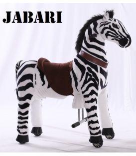 Kids-Horse Zèbre, cheval à roulettes enfant 4 à 10 ans