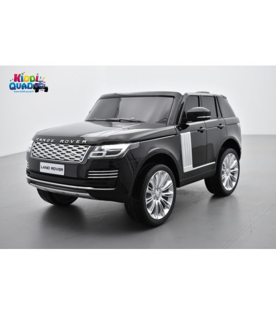 Range Rover, Finition Autobiography HSE, Noir Métallisée, 2 Places, voiture électrique enfant télécommande parentale, 24 Volts