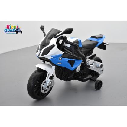 BMW S 1000 RR Bleu, moto électrique pour enfant 12 volts