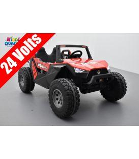 Buggy Crawler 24 Volts électrique enfant Rouge, buggy électrique enfant 24 Volts 7 Ah, 4 moteurs
