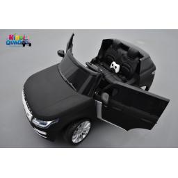 Range Rover, Finition Autobiography HSE, Noir Mat, 2 Places, voiture électrique enfant télécommande parentale, 24 Volts