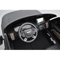 Range Rover, Finition Autobiography HSE, Blanc, 2 Places, voiture électrique enfant télécommande parentale, 24 Volts
