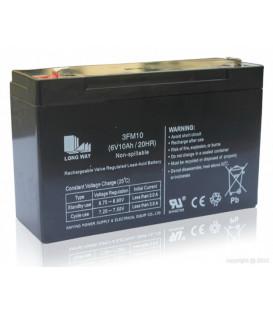 Batterie 6V10AH pour voitures et motos électrique enfant