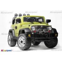 4x4 Jeep Électrique pour enfant vert 1 place, 12Volts