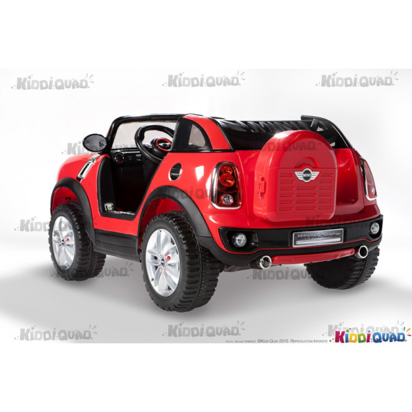 mini beachcomber rouge voiture lectrique pour enfant 12v 7ah 2 moteurs kiddi quad. Black Bedroom Furniture Sets. Home Design Ideas