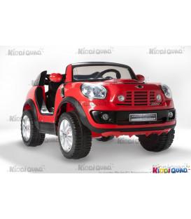 MINI BeachComber Rouge, voiture électrique pour enfant, 12V - 7Ah, 2 moteurs