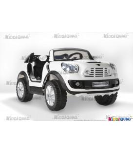 MINI BeachComber blanc, voiture électrique pour enfant, 12V - 7Ah, 2 moteurs