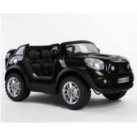 MINI BeachComber Noir Version XXL, voiture électrique pour enfant, 12V - 7Ah, 2 moteurs