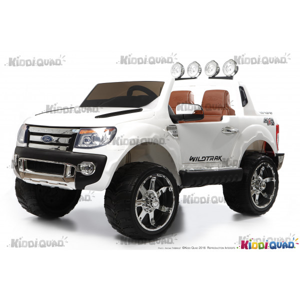 ford ranger version luxe blanc 12 volts lectrique pour enfant. Black Bedroom Furniture Sets. Home Design Ideas
