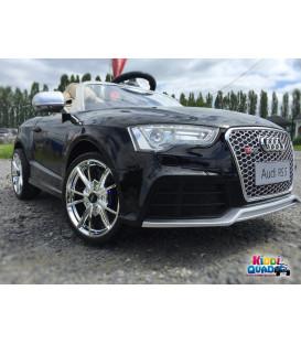 Audi RS 5 Noir Métallisé 12 Volts, voiture électrique pour enfant
