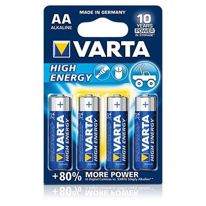 Piles VARTA AA High Energy LR6 1,5V