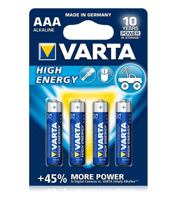 Piles VARTA AAA High Energy LR03 1,5V