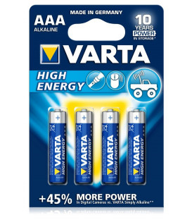 Piles VARTA AAA High Energy LR03 1,5V