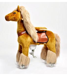 PonyCycle Cow-Boy, cheval à roulettes enfant 2 à 4 ans