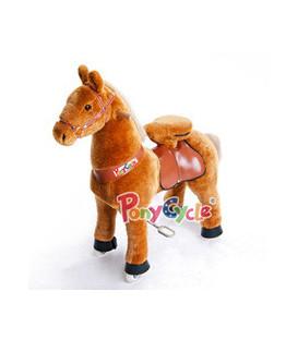PonyCycle Caramel, cheval à roulettes enfant 4 à 10 ans