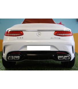 Sticker Plaque personnalisée Mercedes S63 12 volts