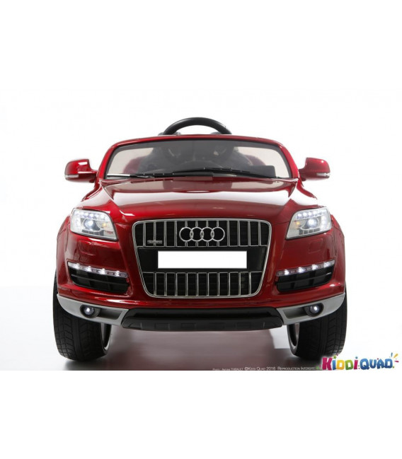 Plaque personnalisée Audi Q7 12 Volts
