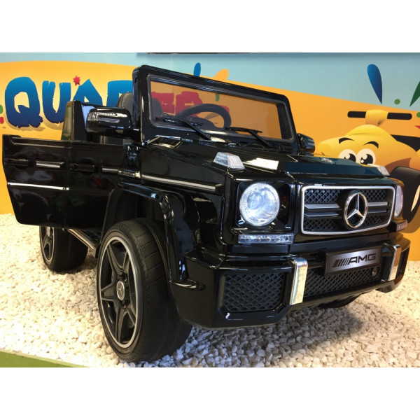 mercedes g63 12 volts pour enfant avec peinture m tallis e. Black Bedroom Furniture Sets. Home Design Ideas