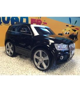 Audi Q5 12 volts noir métal, voiture électrique pour enfant