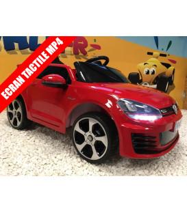 Golf GTI Performance Rouge Tornado, 12 volts, voiture électrique pour enfant