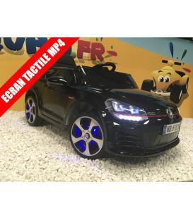 Golf GTI Performance Noir Intense, 12 volts, voiture électrique pour enfant