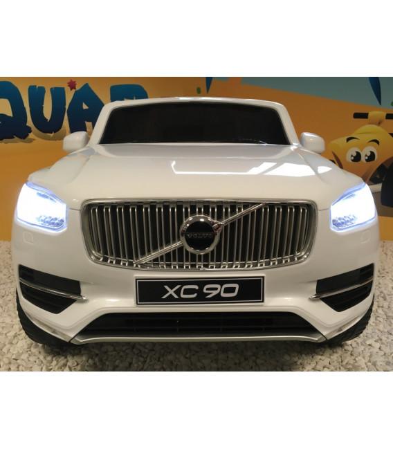 Volvo XC90 T6 Momentum Blanc Glace, Voiture électrique 12 volts pour enfant avec portes ouvrantes