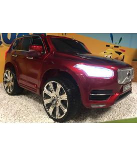 Volvo XC90 T6 Momentum Rouge Passion, voiture électrique pour enfant 12 volts avec démarrage progressif
