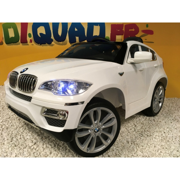 bmw x6 12 volts lectrique pour enfant avec t l commande. Black Bedroom Furniture Sets. Home Design Ideas