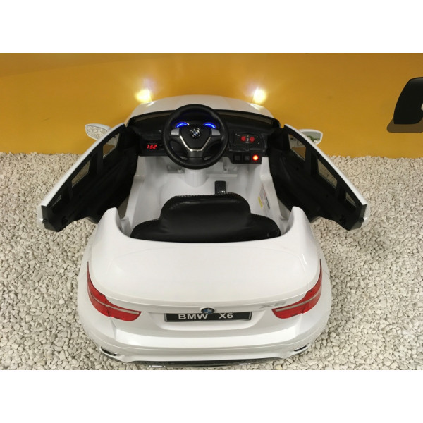 bmw x6 12 volts lectrique pour enfant avec t l commande parentale. Black Bedroom Furniture Sets. Home Design Ideas