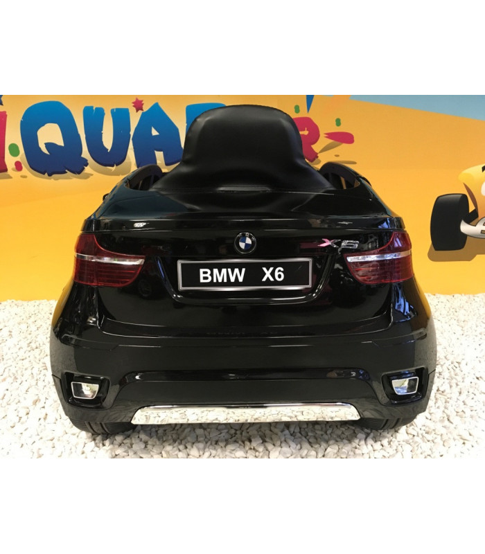 bmw x6 12 volts lectrique pour enfant noir m tallis. Black Bedroom Furniture Sets. Home Design Ideas