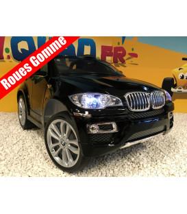 BMW X6, Noir Métallisée, Version Luxe, voiture électrique enfant, 12 volts, 2 moteurs