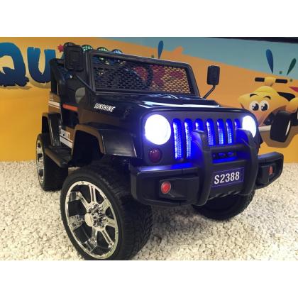 4x4 Jeep noir 4 roues Motrices de 45W