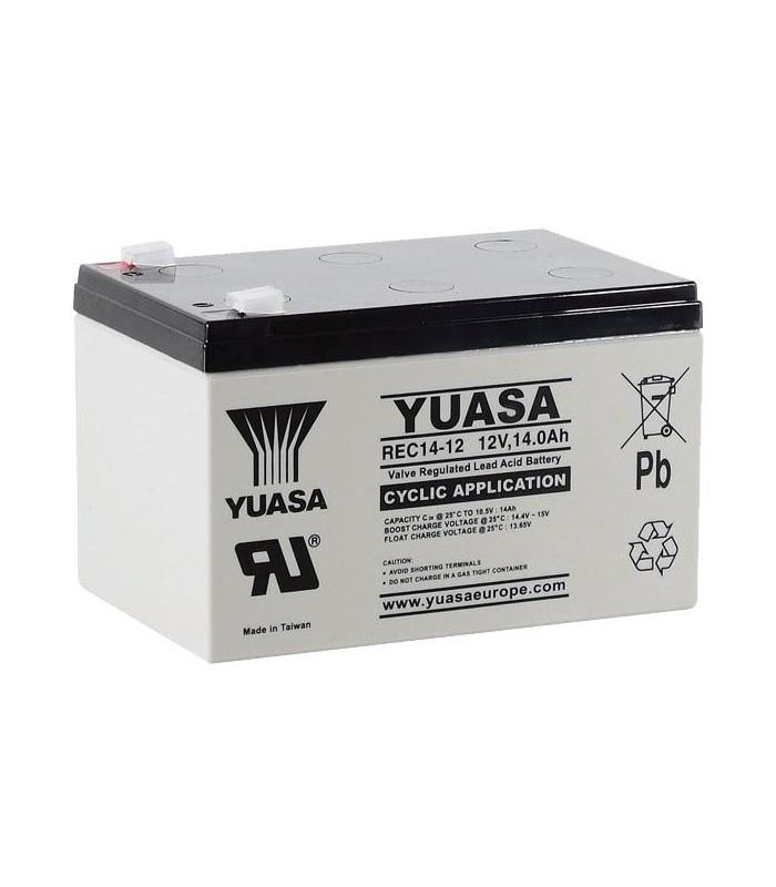 batterie yuasa 12 volts 12 ah. Black Bedroom Furniture Sets. Home Design Ideas