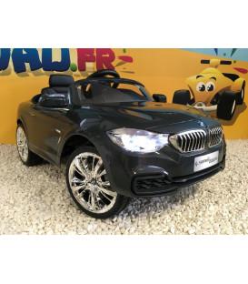 BMW Série 4 Coupé, Gris Minéral Finition Lounge, voiture électrique enfant, 12 volts, 2 moteurs
