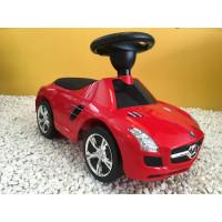 Trotteur voiture Mercedes SLS, porteur pousseur voiture
