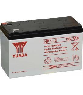 Batterie YUASA 12V 7 Ah pour voiture et moto électrique enfant