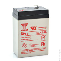 Batterie YUASA 6V 7 Ah pour voiture et moto électrique enfant