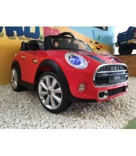 Mini Cooper Chili Red, voiture électrique pour enfant 12 volts