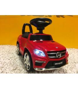 Trotteur voiture Mercedes GL63 Rouge, porteur pousseur voiture