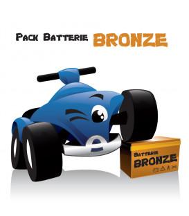 Pack Autonomie Bronze, pour voiture électrique 12 Volts