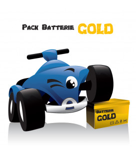 Pack Autonomie Gold, pour voiture électrique 12 Volts