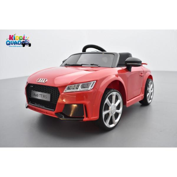 audi tt rs roadster 12 volts rouge catalunya voiture lectrique enfant t l commande parentale 2. Black Bedroom Furniture Sets. Home Design Ideas