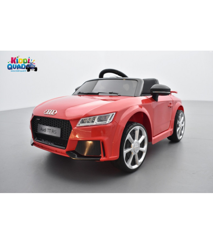 audi tt rs roadster 12 volts rouge catalunya voiture lectrique enfant t l commande parentale 2. Black Bedroom Furniture Sets. Home Design Ideas