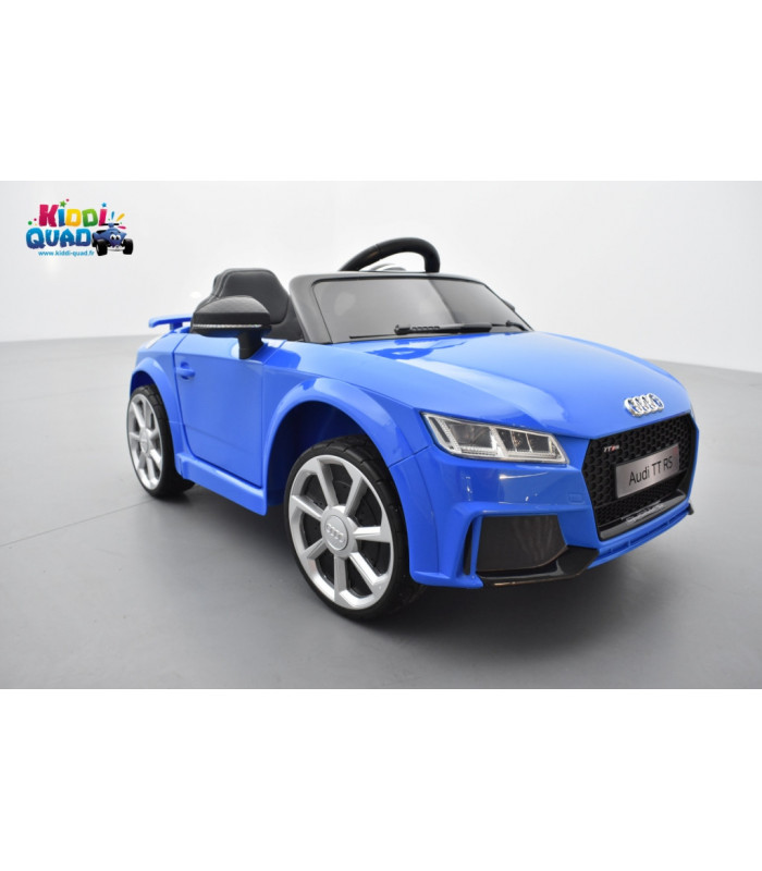 audi tt rs roadster 12 volts bleu ara cristal voiture lectrique enfant t l commande parentale. Black Bedroom Furniture Sets. Home Design Ideas