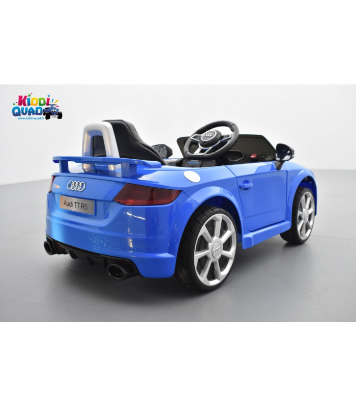 audi tt rs roadster 12 volts bleu ara cristal voiture. Black Bedroom Furniture Sets. Home Design Ideas