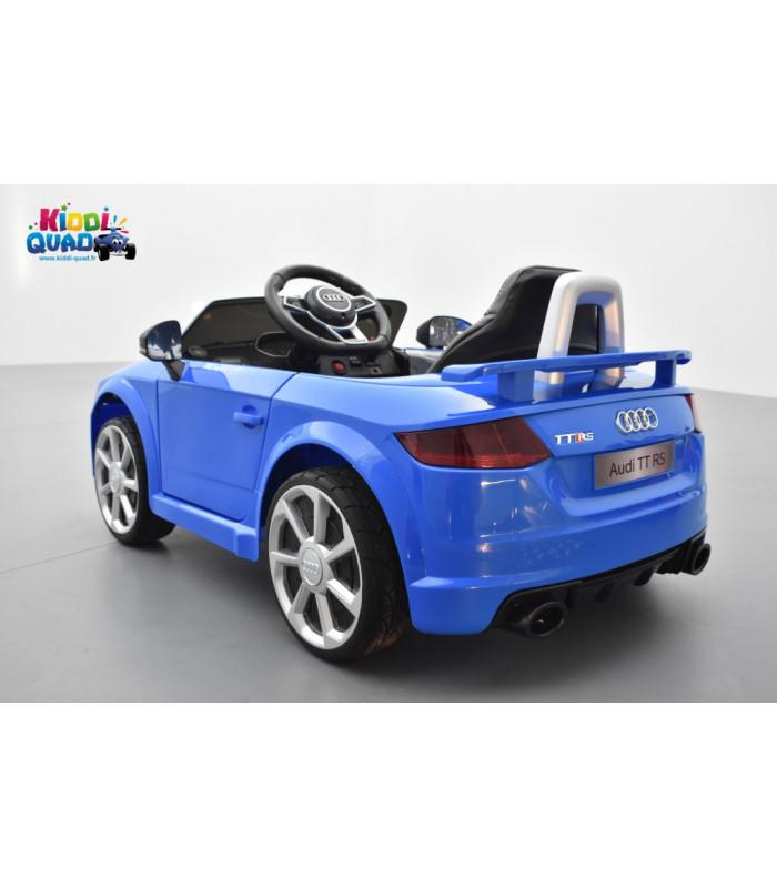 audi tt rs roadster 12 volts bleu ara cristal voiture. Black Bedroom Furniture Sets. Home Design Ideas