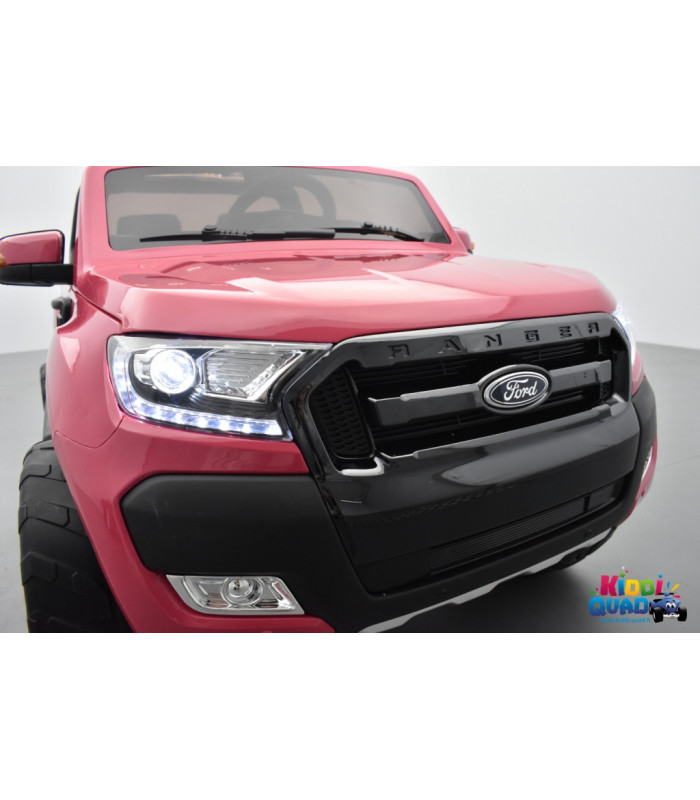 ford ranger 2 x 12v phase 2 rose m tallis avec t l commande parentale 2 4 ghz voiture. Black Bedroom Furniture Sets. Home Design Ideas