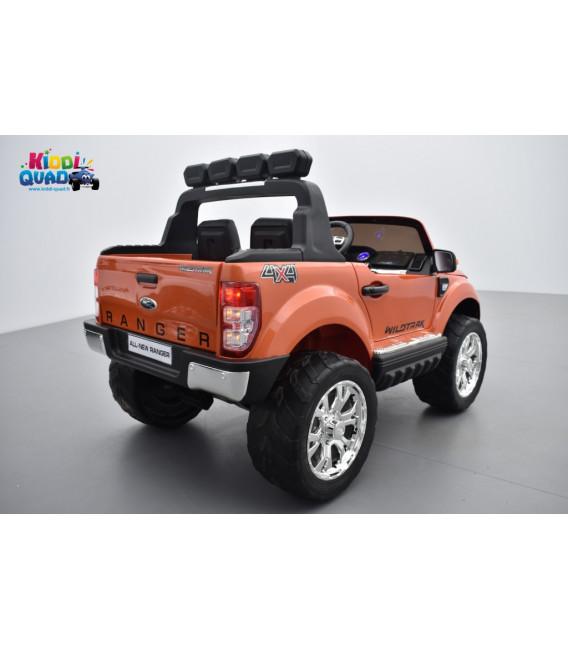 ford ranger 2 x 12v phase 2 orange pride m tallis avec t l commande parentale 2 4 ghz voiture. Black Bedroom Furniture Sets. Home Design Ideas
